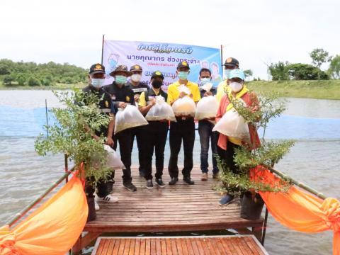 13 กันยายน 2564 ปล่อยพันธู์ปลา ปลูกป่าศูนย์การเรียนรู้เกษตรชุมชน