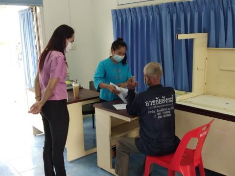 ทต.ถาวรให้ความช่วยเหลือผู้ประสบภัยพิบัติ กรณีวาตภัย